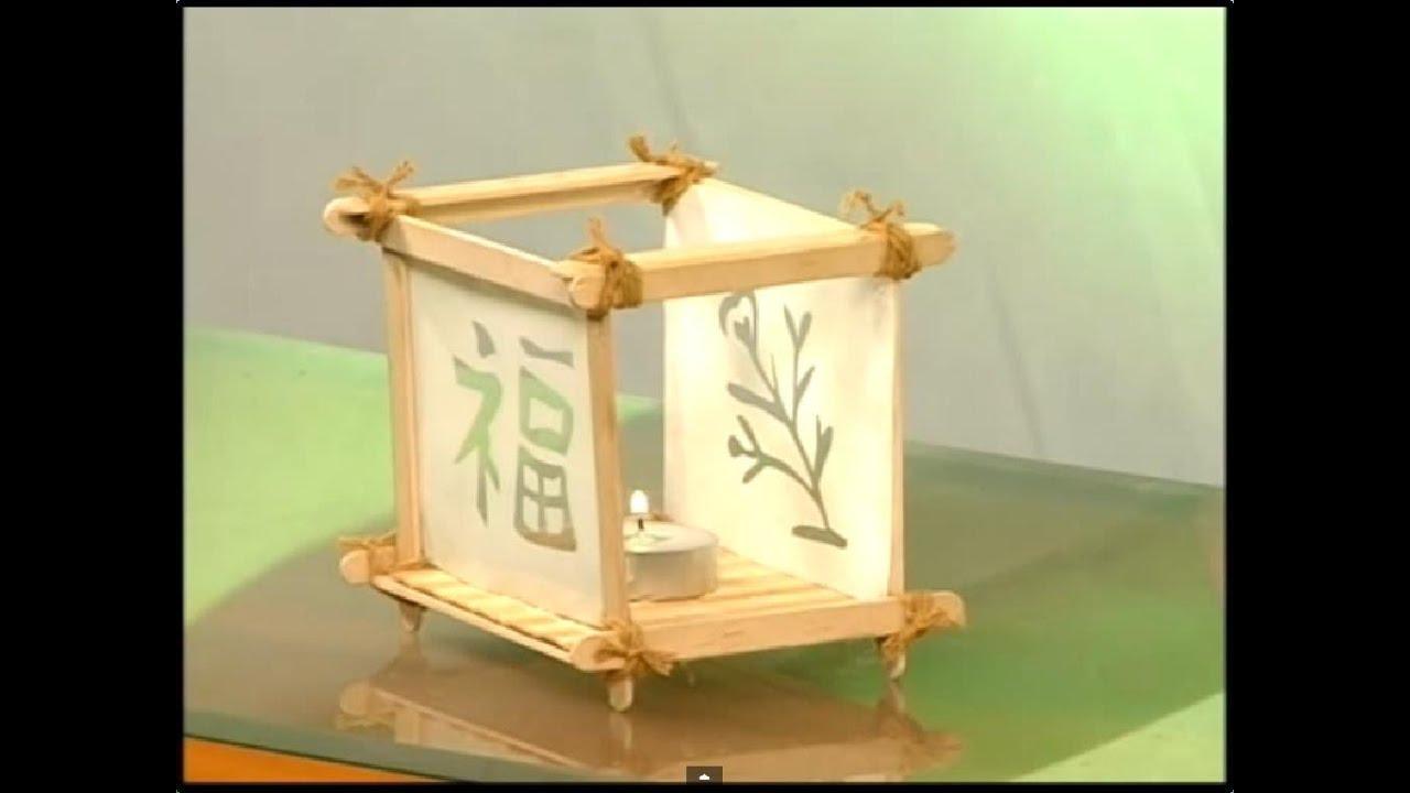 Decoracion Zen Velas ~ Porta velas al estilo Zen  Programa 12  parte 2 3  YouTube