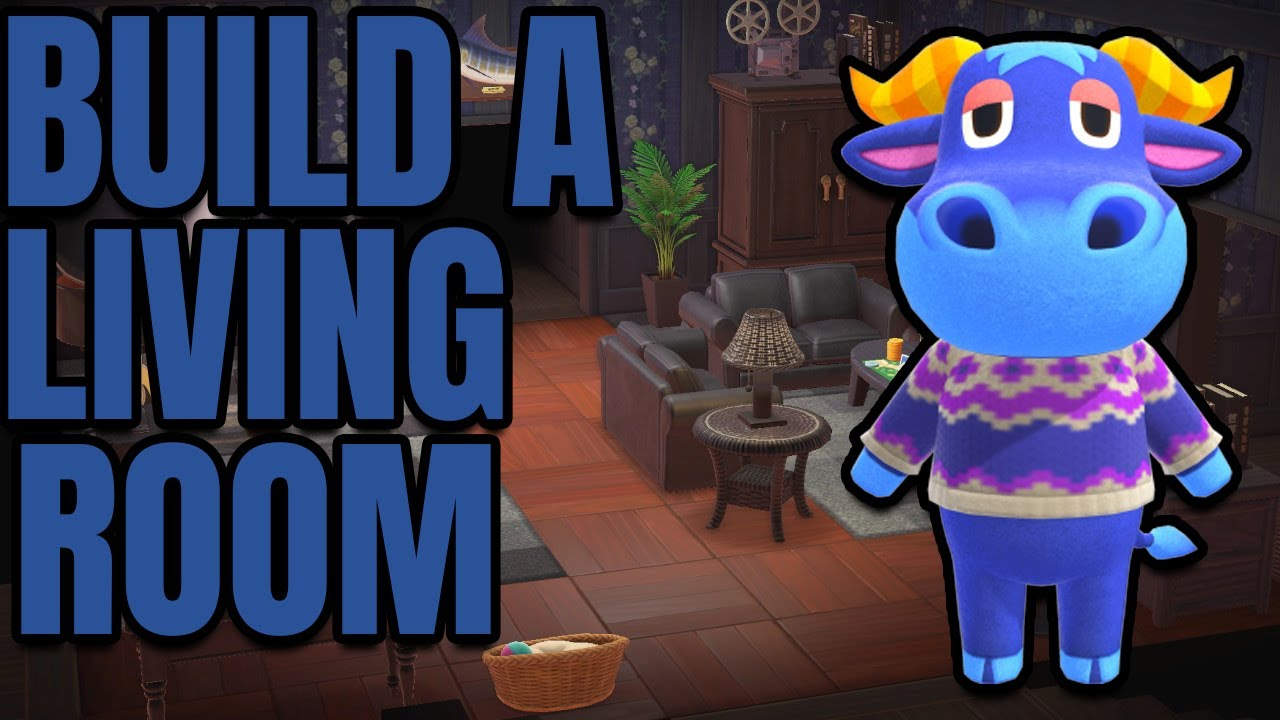 Build A COZY Living Room In Animal Crossing New Horizons ... on Animal Crossing Living Room Ideas New Horizons  id=90488