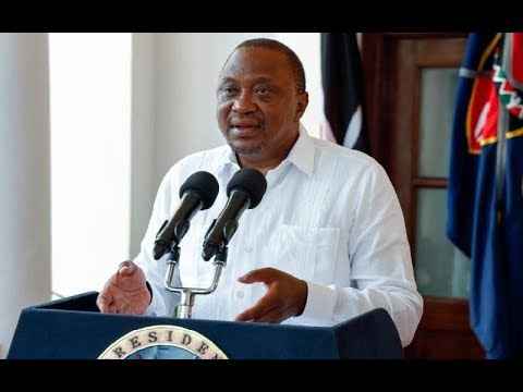 President Uhuru re-organises the cabinet as follows