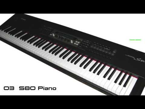 [Yamaha S80] Factory Demo Songs