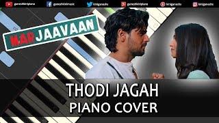 Thodi Jagah Song Marjaavaan | Piano Cover Chords Instrumental By Ganesh Kini