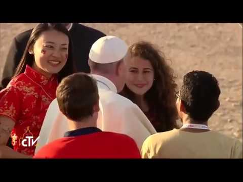 Pope releases message for local celebrations of World Youth Day | Catholic Newsbreak 2-23-2018