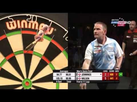 BDO World Trophy 2014 - Men's Semi Final - Paul Jennings vs. James Wilson