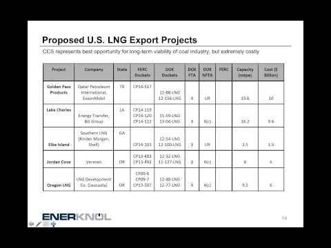 U.S. LNG Export Projects