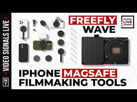 Freefly's Wave Camera, MagSafe Filmmaking Tools, YouTube Soundtracks and more [Video: Explored]