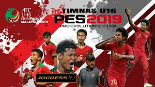New Textures & Savedata Jogress V4.1.2 Special Edition Timnas U16 Indonesia •AFC | GoblinTV
