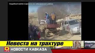 Невеста на тракторе, Дагестан
