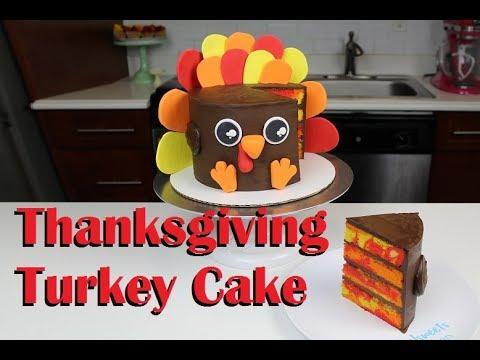 Thanksgiving Turkey Cake | CHELSWEETS