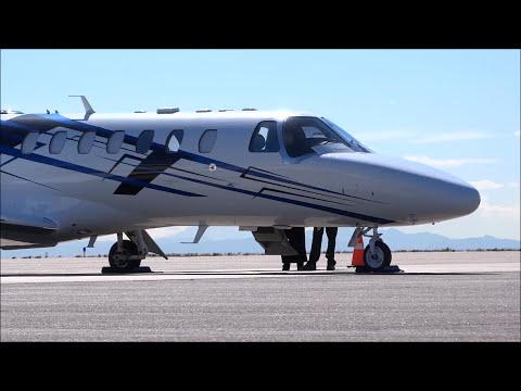 Cessna Citation CJ3 - Engine Start, Taxi and Takeoff
