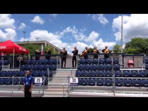 Mariachi Band on hand for Indy Eleven, Indianapolis & Morelia Monarcas game on June 28, 2015