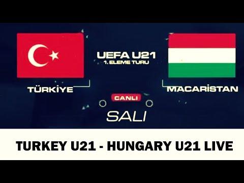 Turkey U21 - Hungary U21 Full Match | Türkiye U21 - Macaristan U21 Tüm Maç