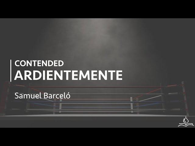 Contended ardientemente - Samuel Barceló