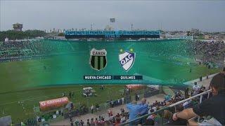 Fútbol en vivo. Nueva Chicago - Quilmes. Fecha 30 Primera División 2015. FPT.