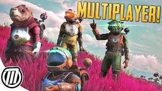 No Man's Sky NEXT: Multiplayer Gameplay, Character Creator \u0026 Free Freighter!