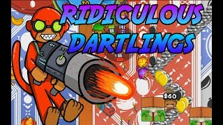 DARTLING GUNS ARE RIDICULOUS! Bloons TD Battles thumbnail