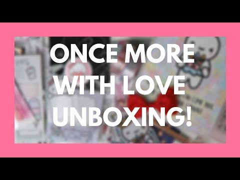 HAUL // Once More With Love Anniversary Box Unboxing!!