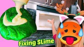 Sửa Slime Siêu Thị Bằng Cách Của Các Em _ Fixing Store Bought Slimes