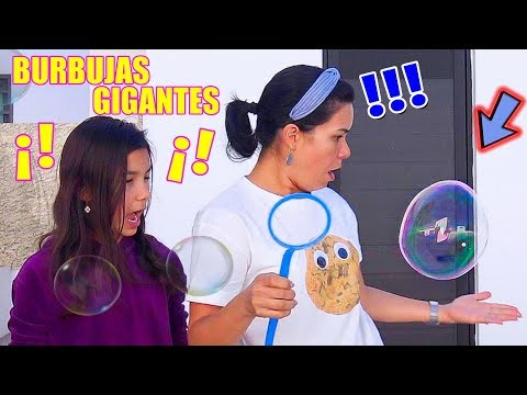 Hicimos BURBUJAS GIGANTES DE JABÓN | AnaNana Toys