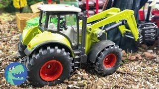 Мультики про машинки    Грузовик, Трактор и Волшебник помогают на ферме
