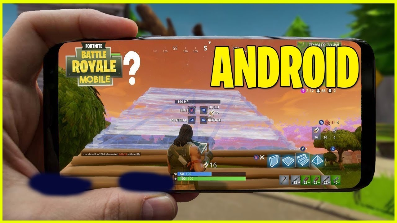 epic games fornite android
