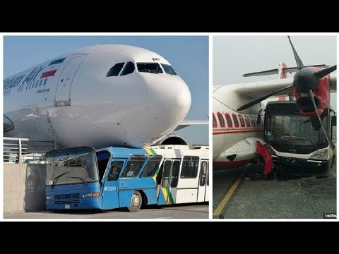 Unexpected Airplane Incidents with Vehicles at the Airport