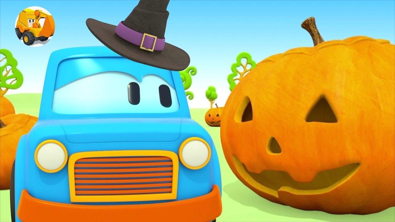 Carros para niños - Halloween para Niños - Colores con Coches Inteligentes