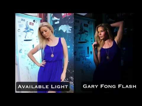 Glamour Portrait Lighting Outdoors - London