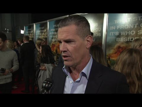 Brolin feels the responsibility of playing real life firefighter