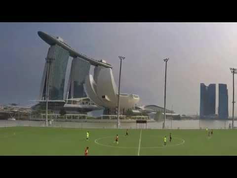 Marina Bay Football (4K)