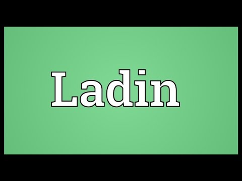 Ladin Meaning