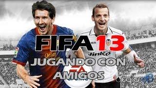 FIFA 13 | Jugando con amigos Ep. 1 | vs Alexandermaximus