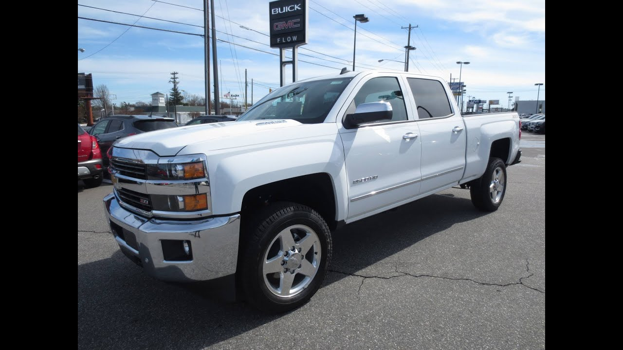 2015 Chevrolet Silverado 2500HD Diesel Z71 LTZ Start Up ...