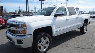 2015 Chevrolet Silverado 2500HD Diesel Z71 LTZ Start Up, Exhaust, and In Depth Review