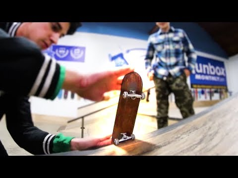 THE MOST EPIC HANDBOARD GAME OF SKATE OF ALL TIME!
