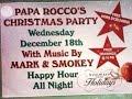 Capture de la vidéo Papa Rocco's Christmas Party 2014