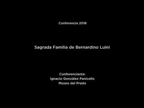 Conferencia: Sagrada Familia de Bernardino Luini