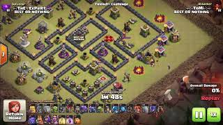 Attack with all troops - Base 8.5 | Clash Of Clans✔️