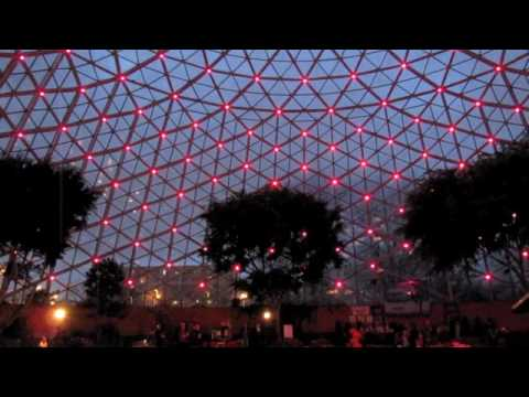Domes Light Show