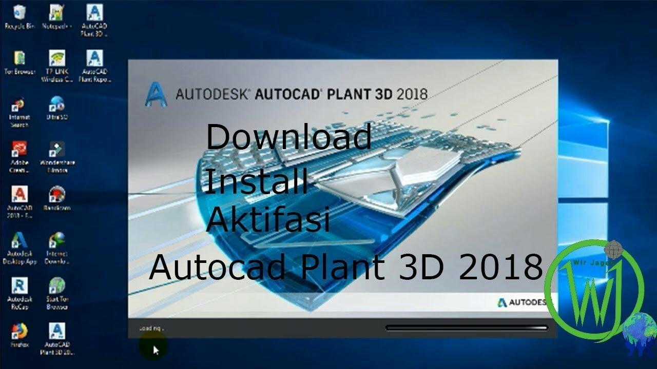 AutoCAD Plant 3D 2018 64 bit