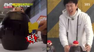 Yoo Jae Suk helped Lee Kwang Soo in pirate pop up game and shocked everyone.