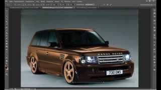 photoshop cs6 virtual tuning/фотошоп cs6 виртуальный тюнинг