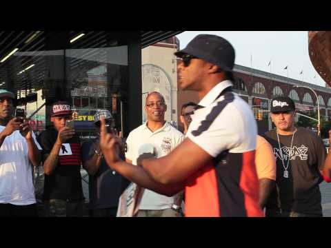 PAPOOSE  at the Brooklyn Cypher Hosted by Ksharktv at the Barclays Center
