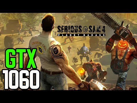 Serious Sam 4 - GTX 1060 3gb | i5 3570 | 12GB | 1080p Low - High Settings | FRAME-RATE TEST |