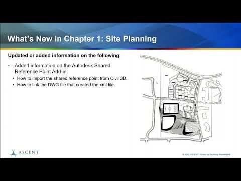 What's New in the Autodesk Revit Site Planning and Design guide