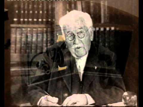Auguste et Louis Lumière évoquent le cinématographe