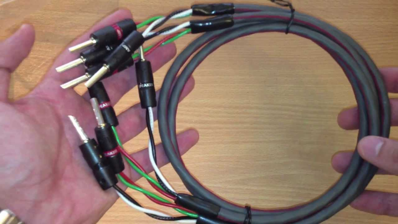FIRST LOOK: AudioQuest FLX-SLiP 16/4 speaker cable - YouTube