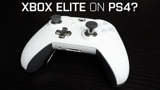 The XBOX ELITE is the BEST PS4 CONTROLLER!? | Honest Review