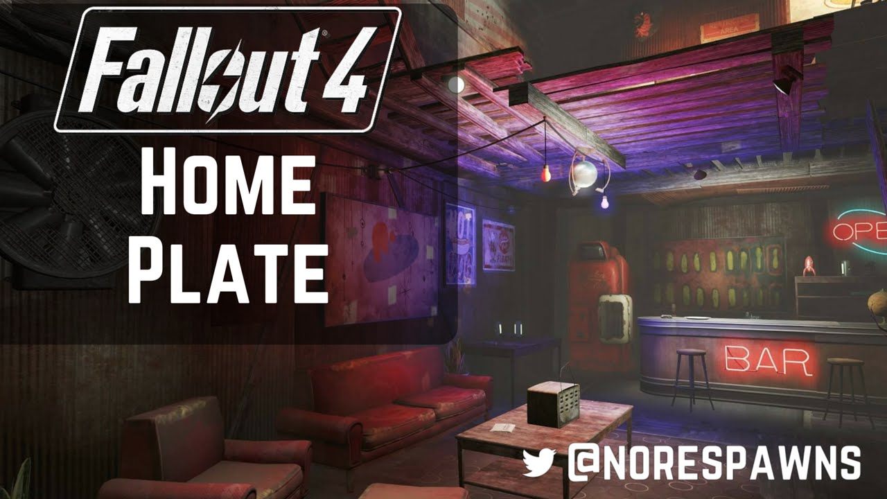 Fallout 4 Home Plate Guided Tour Youtube