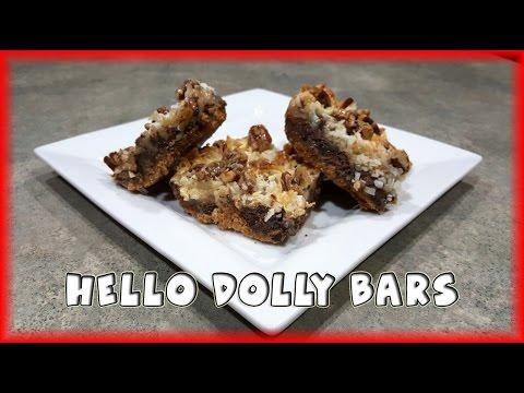 Hello Dolly Bars (Magic Bars)