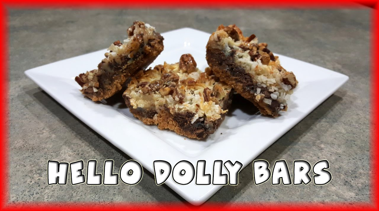 hello dolly bars magic bars youtube. Black Bedroom Furniture Sets. Home Design Ideas
